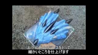 続・片手剣を作ってみた【蒼鬼】 つまようじボーガン 検索動画 21
