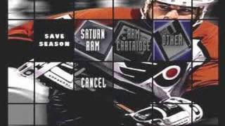 NHL All Star Hockey - Saturn Gameplay footage part 1 of 4