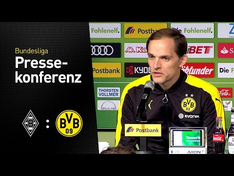 Thomas Tuchel: Sind sehr, sehr glücklich | Borussia Mönchengladbach - BVB 2:3