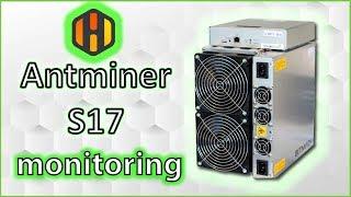 🛎️Antminer S17 | T17 | Bitcoin | monitoring | hiveOS | no overclock yet ?