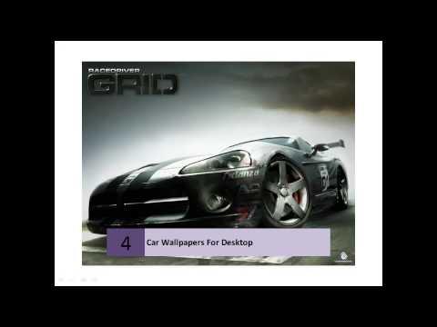 Cars High Resolution Desktop Wallpapers for Widescreen