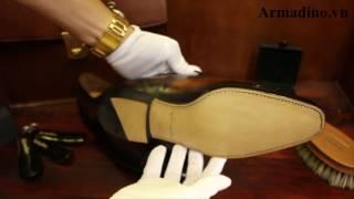 Giày Tây đế da cấu trúc Goodyear đánh màu PATINA (Armadino)