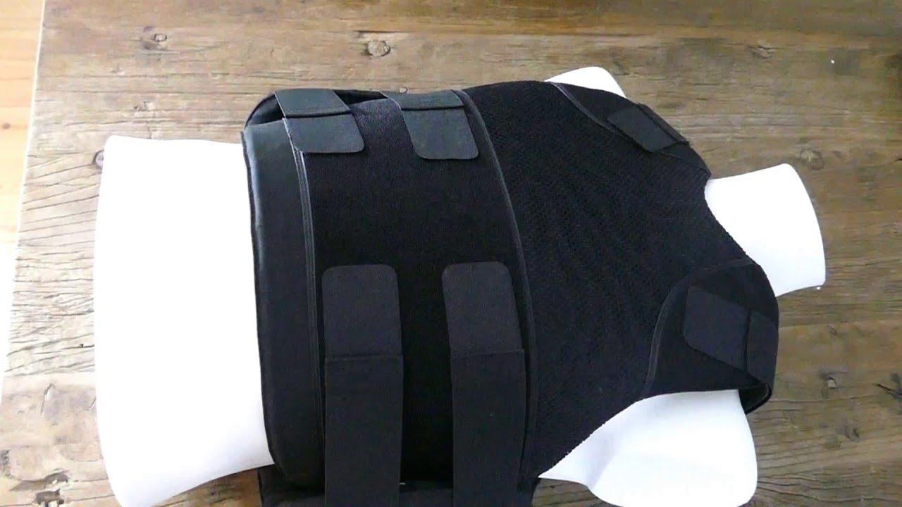 Test stab proof vest | knife resistant vest | NIJ 1 against edged blades