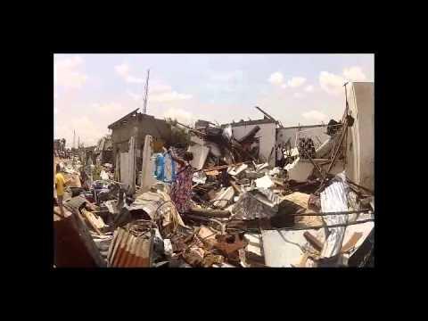 Ammunition depot aftermath -Brazzaville, Republic of Congo 09/03/12