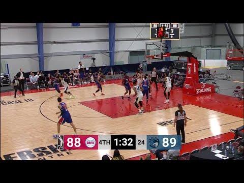 Amile Jefferson Posts 16 points & 14 rebounds vs. Grand Rapid Drive