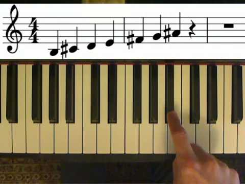 Music theory lesson. Minor scales, how to find all the notes