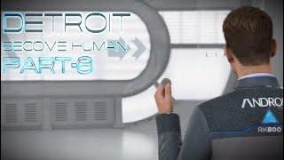 Detroit: Become Human, прохождение, английская озвучка/русские субтитры, часть-8