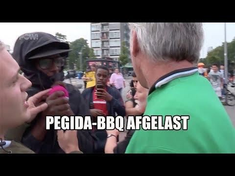 Pegida anti-islam BBQ afgelast: politie kan veiligheid niet garanderen