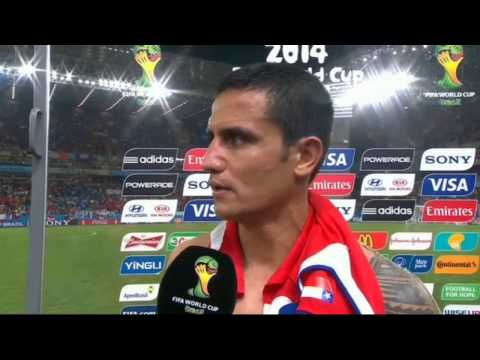 World Cup 2014 Australia 1-3 Chile - Tim Cahill Post Match Interview
