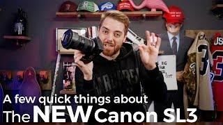 The NEW Canon SL3 vs SL2 vs M50 - WHY CANON?!?