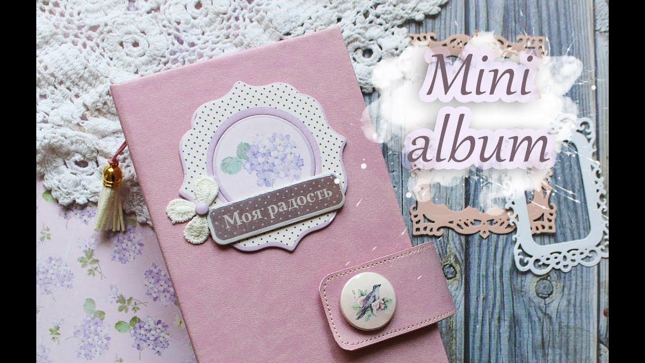 Мини альбом для инста фото / Обзор / Mini album for insta ...