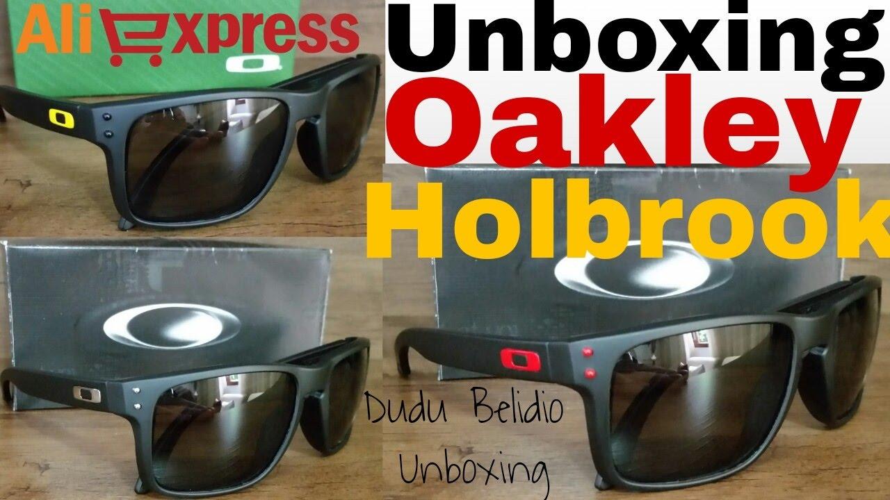 unboxing oakley holbrook aliexpress