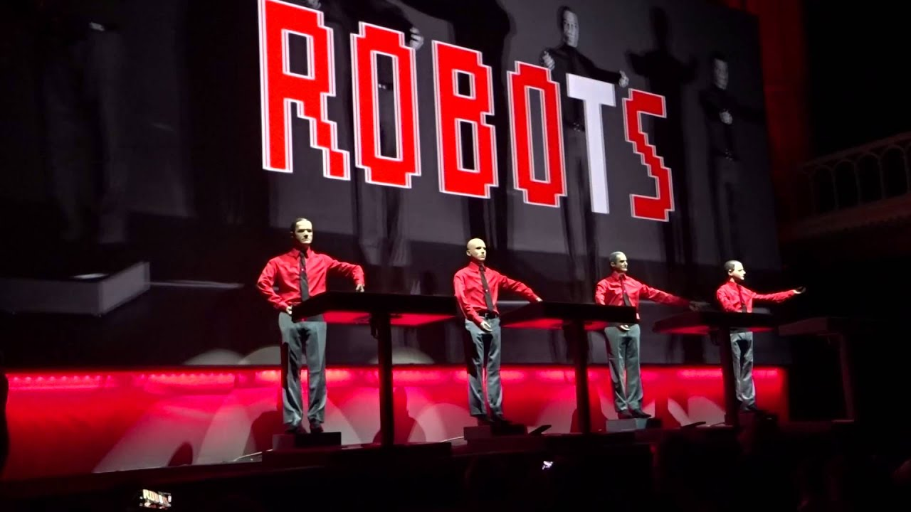 Kraftwerk.The Robots.Amsterdam Paradiso 2015 - YouTubeKraftwerk The Robots