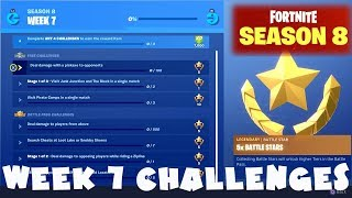 ALL Week 7 Challenges Guide - Fortnite Battle Royale Season 8
