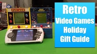 Retro Video Games Holiday Gift Guide - Space Invaders, Pac Man and Sega Genesis
