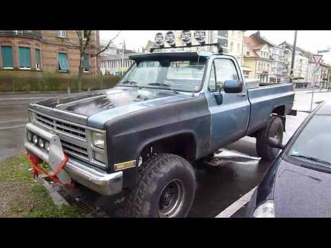 chevrolet k30 6 2 diesel 4x4 pickup truck youtube. Black Bedroom Furniture Sets. Home Design Ideas