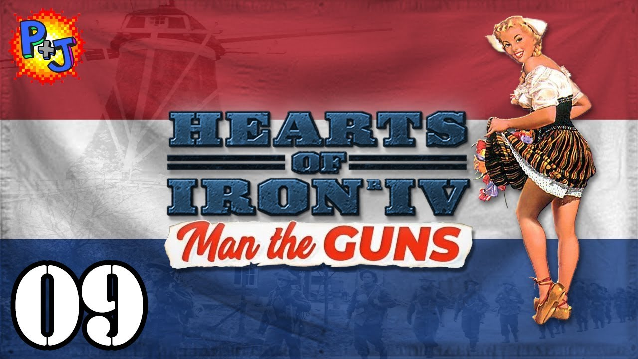 Let's Play HOI4 The Dutch | Hearts of Iron 4 MTG 1 6