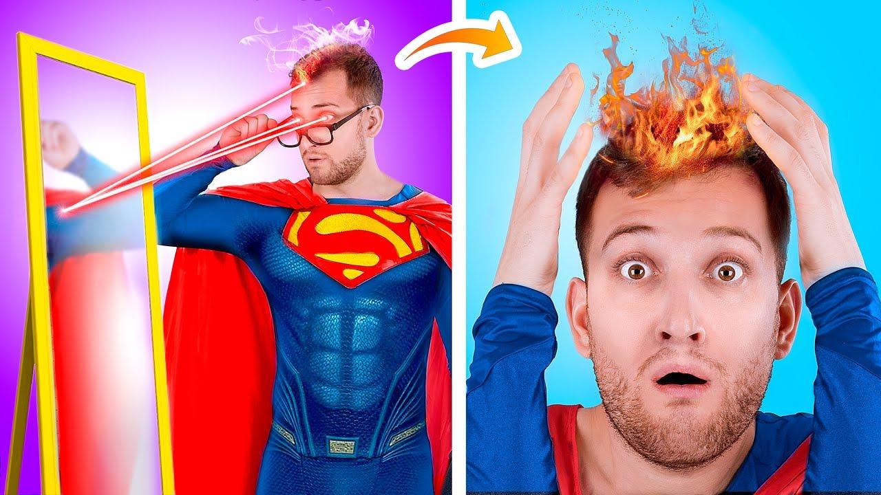 ¡Superhéroe Afortunado Versus Superhéroe Desafortunado!