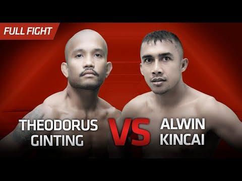 [HD] Theodorus Ginting Vs Alwin Kincai    One Pride Pro Never Quit #26
