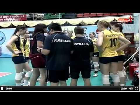 Australia vs Kazakhstan - Vietsovpetro Cup 2013