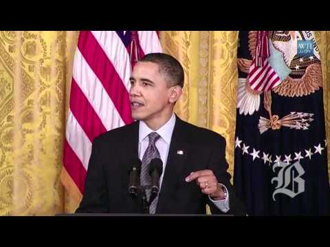 Bill Russell receives Medal of Freedom from President Obama