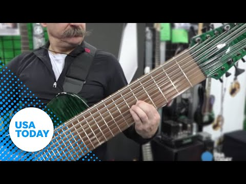 Download Youtube: See the world's most expensive guitar
