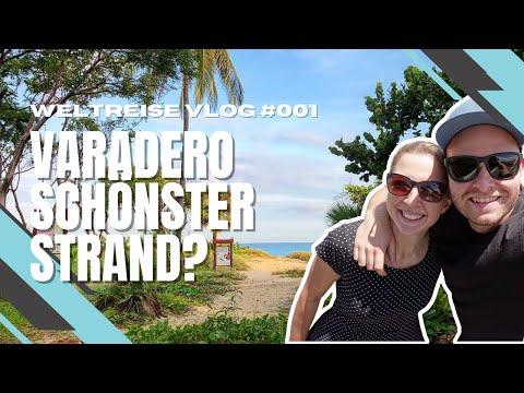 Varadero Kuba Reisebericht - 7 Tage Karibik Traumstrand - Weltreise VLOG #1 4K