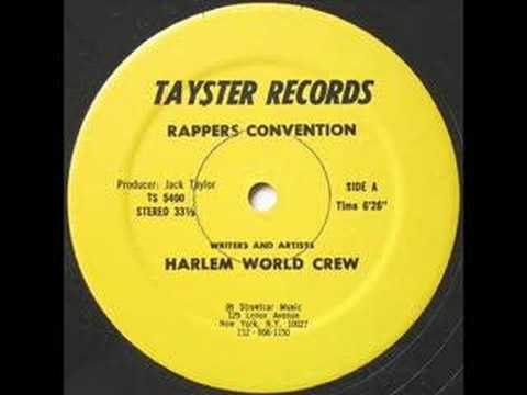 HARLEM WORLD CREW - rappers convention  1980