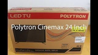 Unboxing dan Test Sound TV Polytron LED 24 inch Cinemax PLD 24T8511