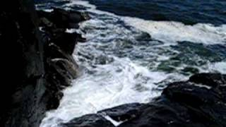 Blowing Cave in Kennebunkport, Maine