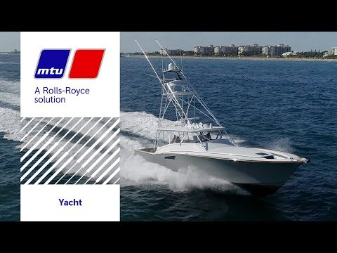 The Engine that gets Sport Fishing Boats to their Fishing Grounds fast