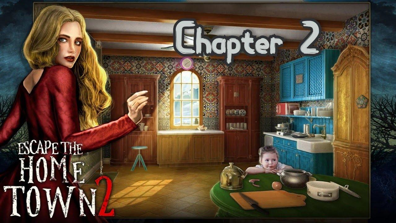 Escape Game Home Town Adventure 2 Walkthrough Chapter 2 Buscoldapp Youtube