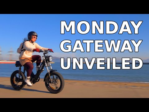 Monday Motorbikes Gateway & Booster Electric Bikes | First Look And Demo Ride