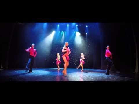 """шоу-балет ФЕЕРИЯ и Bárbara Grave de Peralta & Eduardo Ferrer Sanchez """"LATINO SHOW"""" Минск Беларусь"""