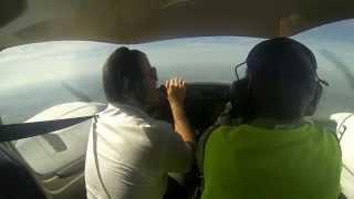 Полеты на Da-42 NG СПбГУГА Бегишево