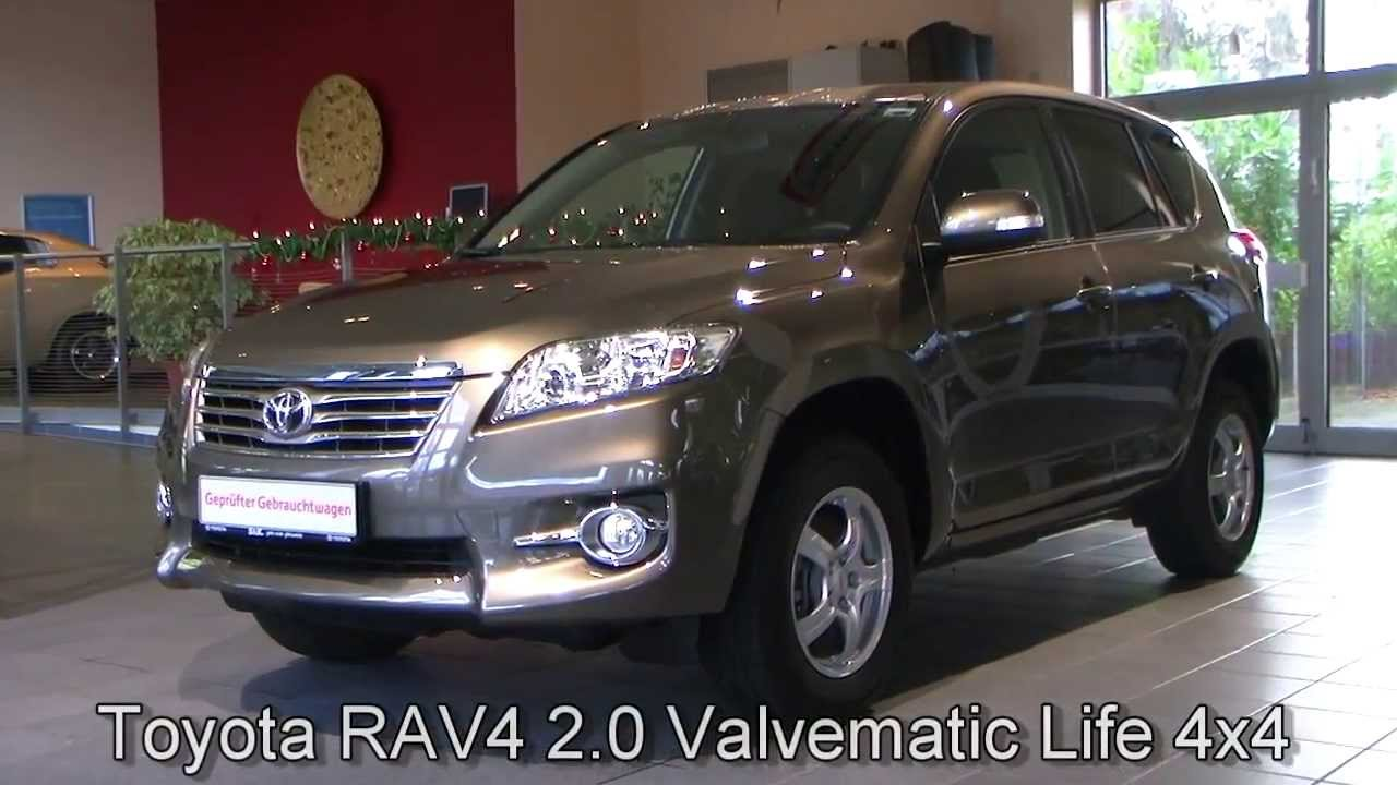 toyota rav4 2 0 valvematic life 4x4 bronzebraun metallic. Black Bedroom Furniture Sets. Home Design Ideas