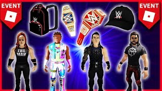 *New* Roblox EVENT: WWE 🌟ANDEs and FREE AVATAREs!