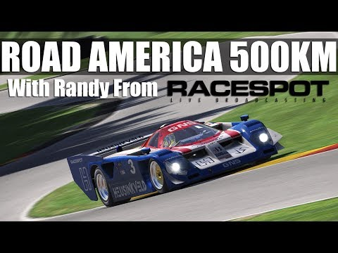 iRacing - The Road America 500km  ** 30K SUBS TODAY? **