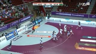 خسارة المنتخبين السعودي والجزائري ببطولة العالم لليد
