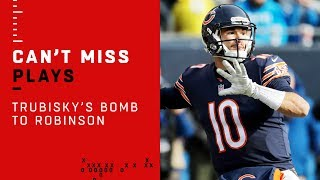 Trubisky Airs it Out to Robinson for the Big TD!
