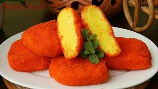 ভাজা কাস্টার্ড রেসিপি/তেলে ভাজা কাস্টার্ড রেসিপি/ডেজার্ট রেসিপি/Fried Custard Recipe/Dessert Recipe.