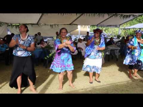 Niue Alofi Fête chrétienne Chants traditionnels / Niue Alofi Christian traditional songs