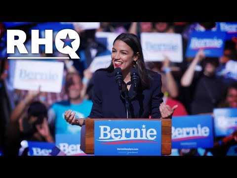 AOC's Bernie Endorsement: HIGHLIGHTS
