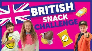 British Snack Challenge with Indigo, Julianna & Cooper from The KIDZ BOP Kids