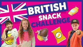 British Snack Challenge with Indigo, Julianna & Cooper from The KIDZ BOP Kids