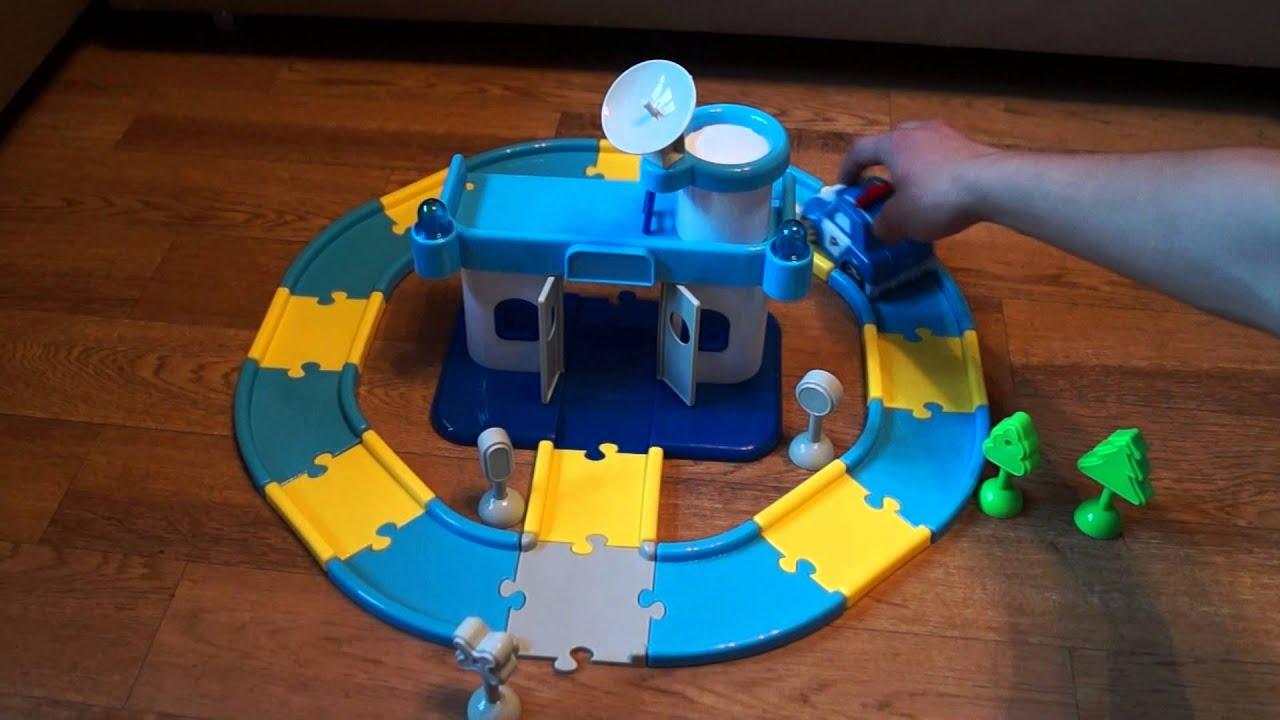 Игрушка робокар поли дорога