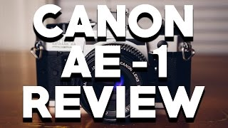 CANON AE-1 PROGRAM REVIEW: Greatest Film Camera Ever? 📷 🎞