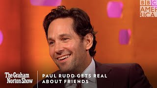 Paul Rudd Gets Real About FRIENDS | The Graham Norton Show | Friday at 11pm | BBC America