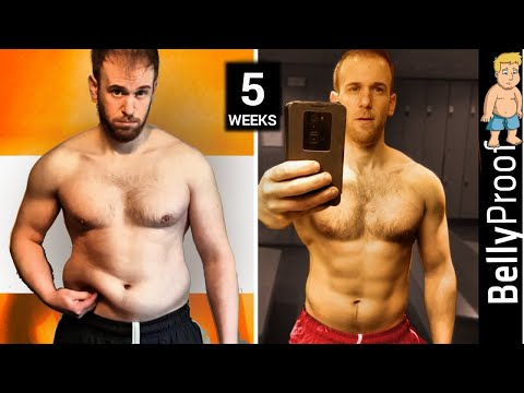 Weight Loss Body Transformation - (35 days) before and after results