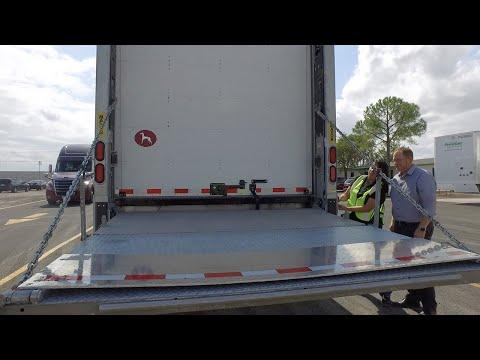 Lift Gate Semi Trailers for Lease/Rent | Premier Trailer Leasing